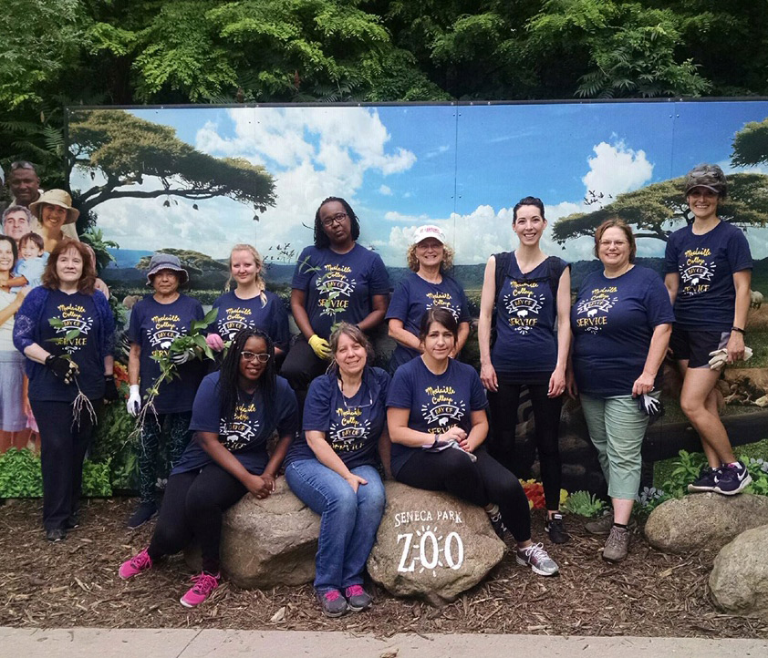 Medaille College Rochester Day of Service 2019