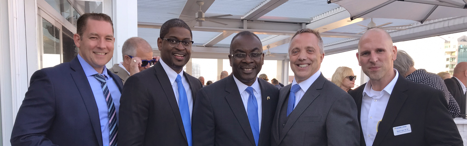 Medaille College Alumni and Admin with Buffalo, NY Mayor Brown