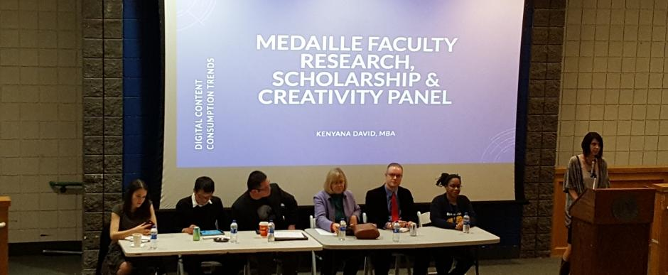 Faculty Research, Scholarship and Creativity Panel